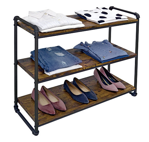Real Home Innovations Modern Industrial Style 3 Tier Organizer