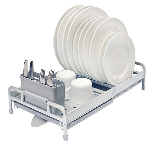 Real Home Innovations Deluxe Aluminum Expandable Dish Rack