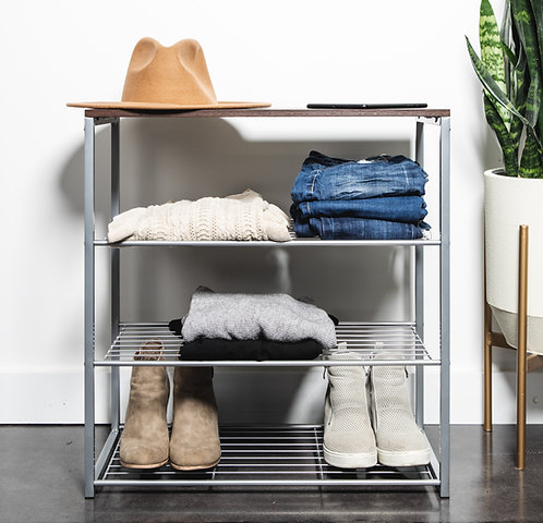 Real Home Innovations Stackable 4 Tier Organizer