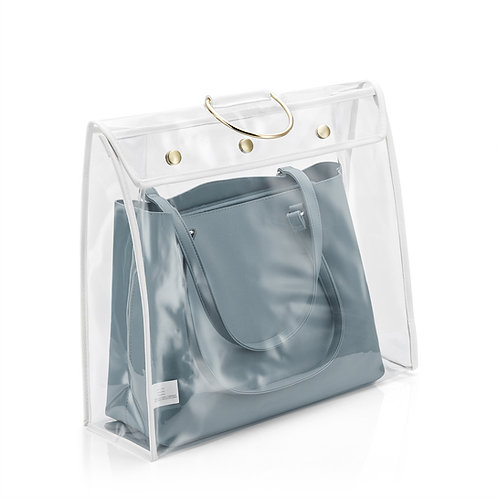 Real Home Innovations Extra Large Dust-Free Handbag Protector, Clear