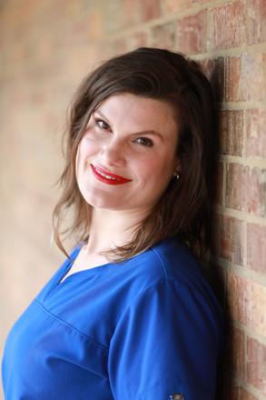 Kristine Collins, Aesthetician