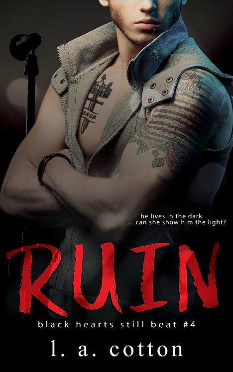Black Hearts Still Beat: Ruin (Levi Hunter's Story) Paperback