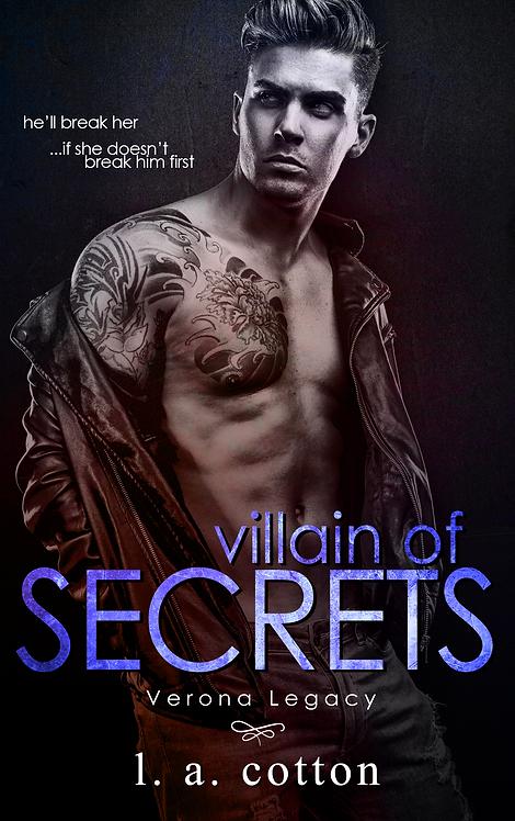 Verona Legacy: Villain of Secrets Paperback