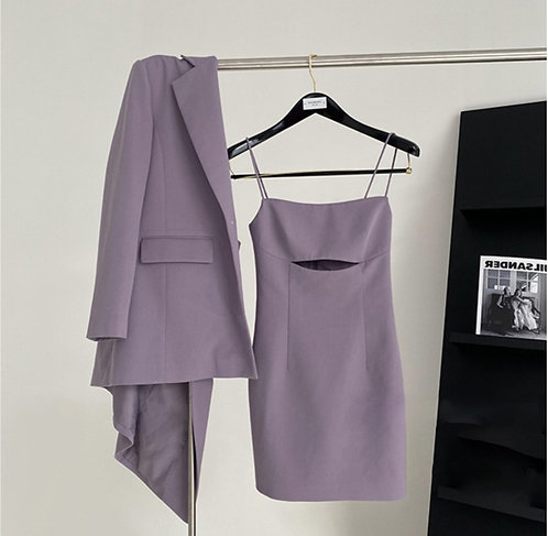 Blazer & Dress Co-ord