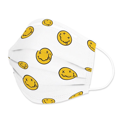Smiley Face Disposable Mask