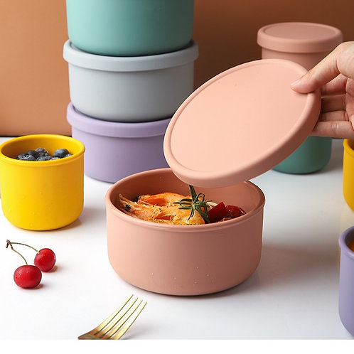 Silicon Food Containers