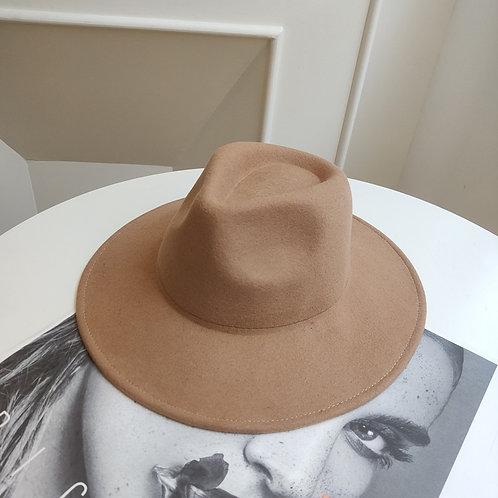 Camel Wool Hat