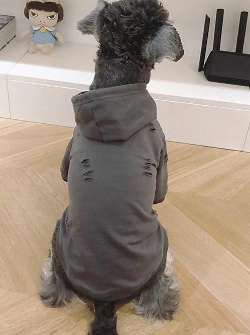 Distressed Pet Hoodie