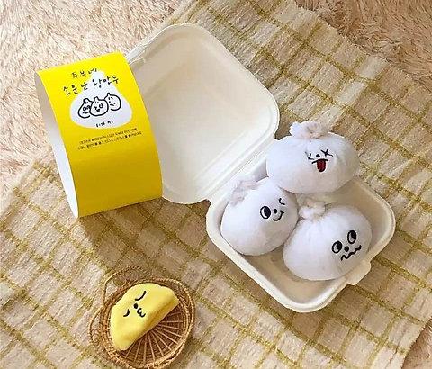 Squeaky Bao Toys