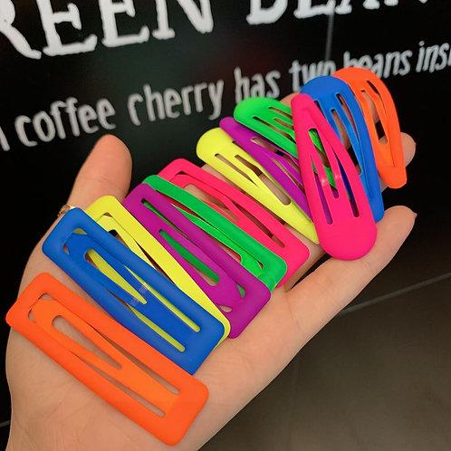 Neon Hair Clips