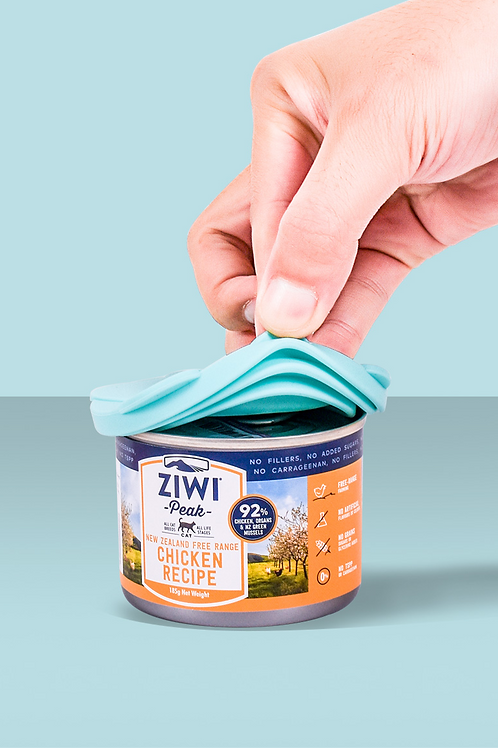 Pet Food Reusable Lid & Spoon