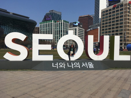 Seoul = all you can eat bbq :P