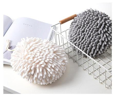Chenille Hand Towel Ball