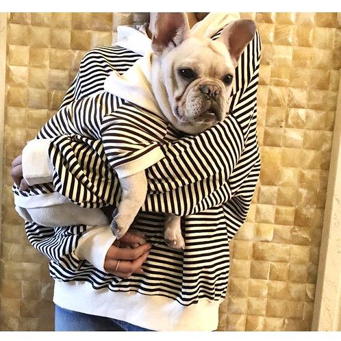 Matching Striped Hoodies