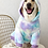 Thumbnail: Fleece Tie Dye Hoodie