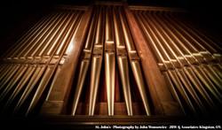 Pipe organ, St. John's