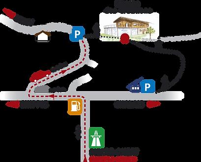 Plan accès Crétillons