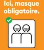 Masque obligatoire pour vos déplacements + traçage par l'application SocialPass