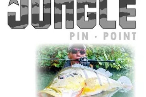 Feed Lures Rod Baitcast Jungle Pin Point JBC-662 M P.E 2 Max (0142)