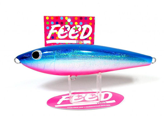 Feed Lures Slash 130 Hand Made Stick Bait Sinking Lure 130 grams 69 (9069)