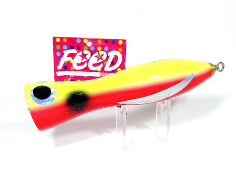 Feed Lures Pin 100 Hand Made Wood Popper Floating Lure 100 grams 17 (0017)