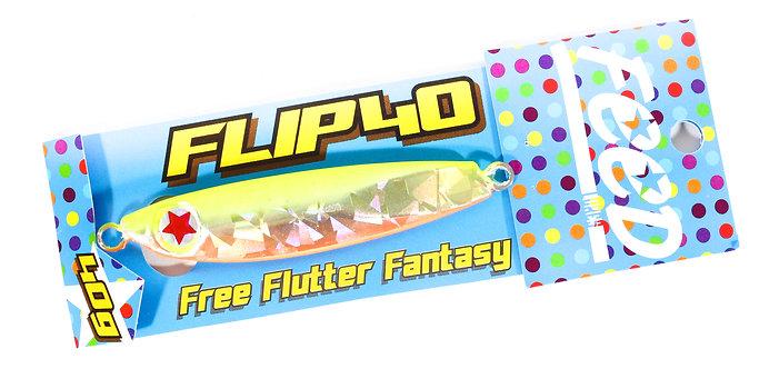 Feed Lures Metal Jig Flip 40 grams 105 (8105)