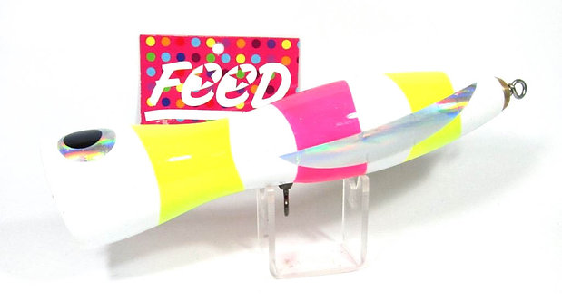 Feed Lures Pin 150 Hand Made Wood Popper Floating Lure 150 grams 19 (2019)