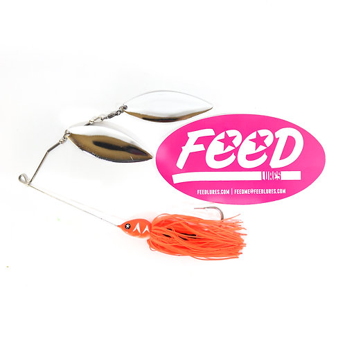 Feed Lures Blade 32 Spinnerbait 32 grams Lure B4 (2004)