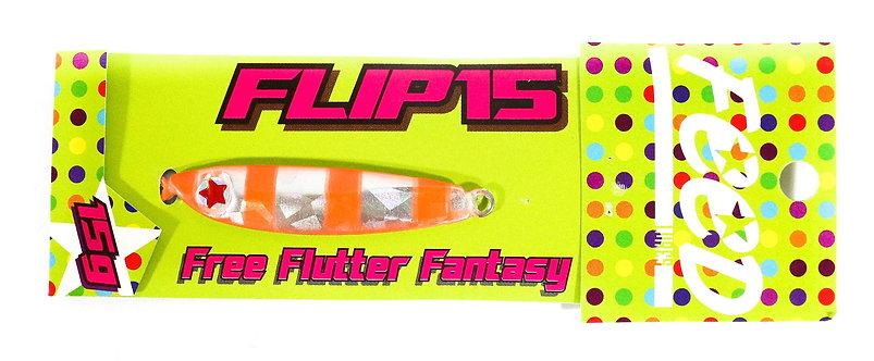Feed Lures Metal Jig Flip 15 grams 114 (6114)