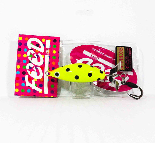 Feed Lures Shred 35 Hand Made Buzz Frog Floating Lure 35 grams 239 (0239)