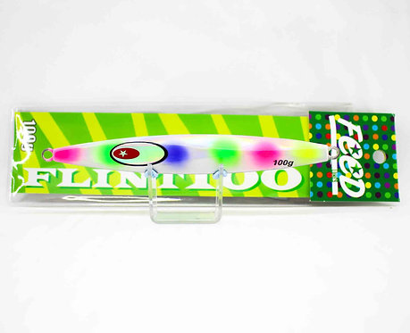 Feed Lures Metal Jig Flint 100 grams 172 (4172)