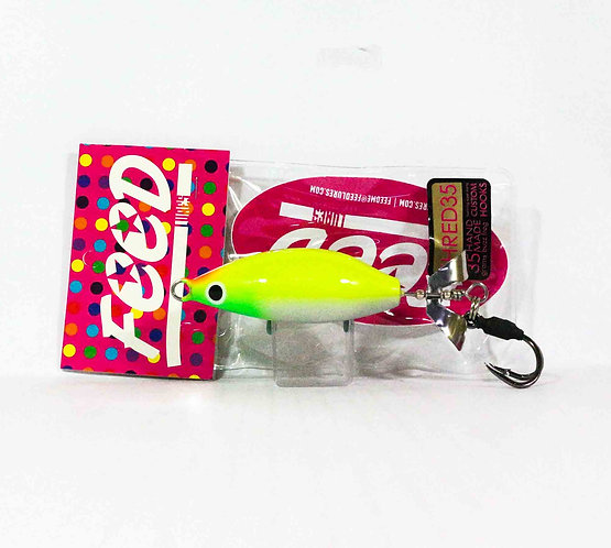 Feed Lures Shred 35 Hand Made Buzz Frog Floating Lure 35 grams 238 (0238)