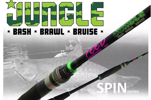 Feed Lures Rod Spinning Jungle Bash JBS-68 H P.E 3 Max (0056)