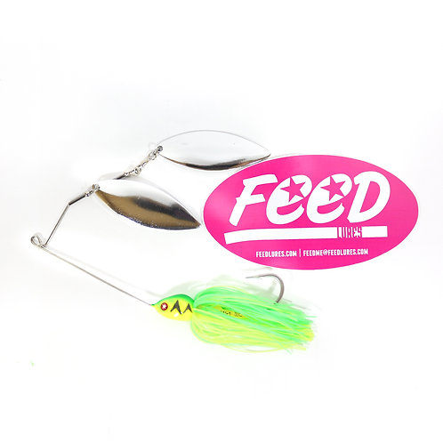 Feed Lures Blade 32 Spinnerbait 32 grams Lure B3 (2003)