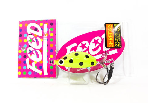 Feed Lures Shred 23 Hand Made Buzz Frog Floating Lure 23 grams 239 (9239)
