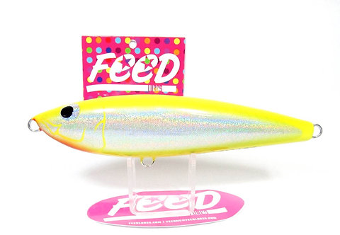 Feed Lures Slash 130 Hand Made Stick Bait Sinking Lure 130 grams 72 (9072)