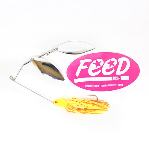 Feed Lures Blade 32 Spinnerbait 32 grams Lure B6 (2006)