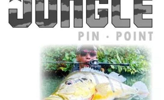 Feed Lures Rod Baitcast Jungle Pin Point JBC-66 M P.E 2 Max (0163)