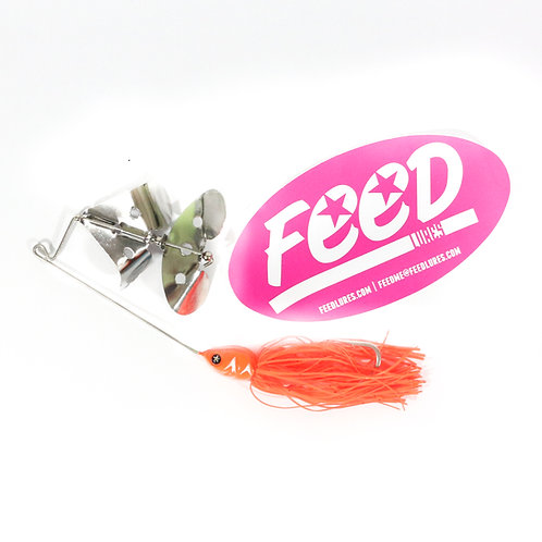 Feed Lures Buzz 30 Buzz Bait 30 grams Lure B4 (9004)