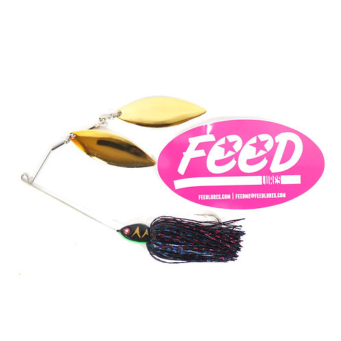 Feed Lures Blade 32 Spinnerbait 32 grams Lure B5 (2005)