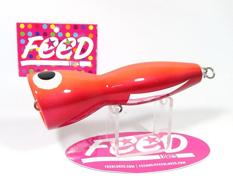 Feed Lures Bell 120 Hand Made Wood Popper Floating Lure 120 grams 57 (8057)