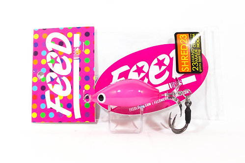 Feed Lures Shred 23 Hand Made Buzz Frog Floating Lure 23 grams 240 (9240)