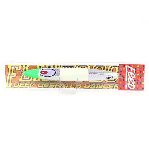 Feed Lures Metal Jig Flint 320 grams 145 (7145)