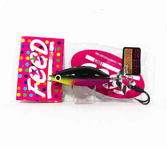Feed Lures Shred 35 Hand Made Buzz Frog Floating Lure 35 grams 236 (0236)