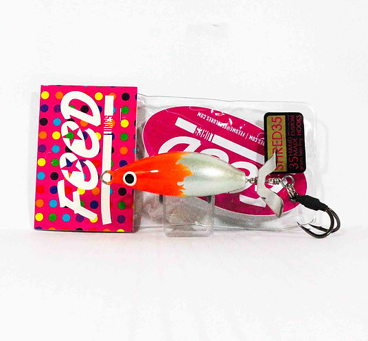 Feed Lures Shred 35 Hand Made Buzz Frog Floating Lure 35 grams 241 (0241)