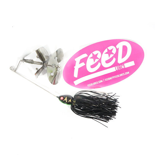 Feed Lures Buzz 30 Buzz Bait 30 grams Lure B5 (9005)