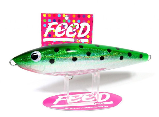 Feed Lures Slash 130 Hand Made Stick Bait Sinking Lure 130 grams 66 (9066)