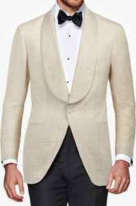 Suitsupply outlet sale: Suitsupply natural linen dinner jacket