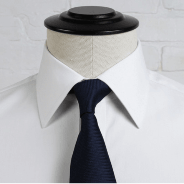 Proper Cloth President Semi-Spread Collar