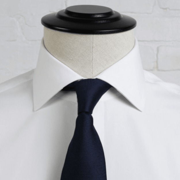 Proper Cloth President Spread Collar